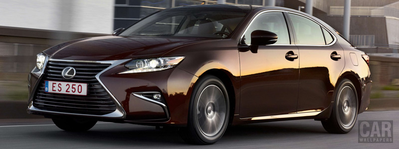 Обои автомобили Lexus ES 250 - 2015 - Car wallpapers