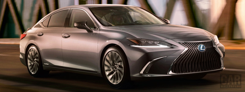 Обои автомобили Lexus ES 300h - 2018 - Car wallpapers