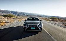 Обои автомобили Lexus LS 500h AWD (Manganese Luster) - 2017
