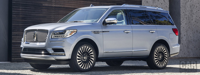 Cars wallpapers Lincoln Navigator Black Label - 2017 - Car wallpapers