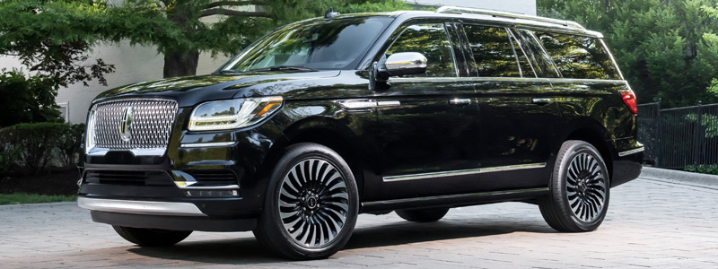 Cars wallpapers Lincoln Navigator L Black Label - 2017 - Car wallpapers