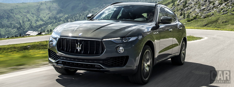Обои автомобили Maserati Levante S Q4 GranSport - 2017 - Car wallpapers