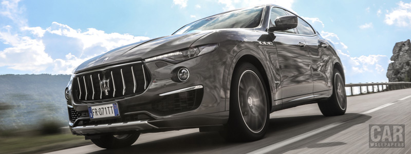 Обои автомобили Maserati Levante Diesel GranLusso - 2018 - Car wallpapers