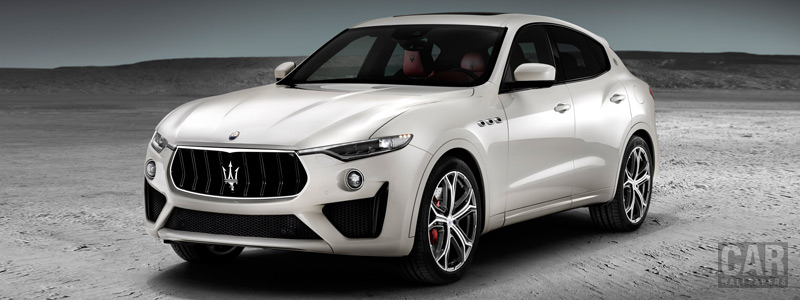 Обои автомобили Maserati Levante GTS - 2018 - Car wallpapers