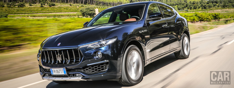 Обои автомобили Maserati Levante S Q4 GranLusso - 2018 - Car wallpapers