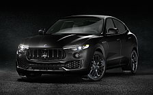 Обои автомобили Maserati Levante S Q4 Nerissimo - 2018