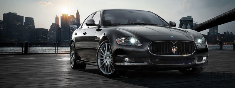 Обои автомобили Maserati Quattroporte Sport Gt S - 2008 - Car wallpapers