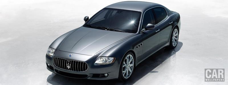 Обои автомобили Maserati Quattroporte - 2008 - Car wallpapers