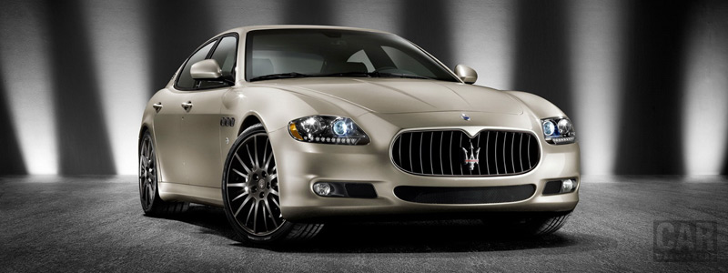 Обои автомобили Maserati Quattroporte Sport GT S Awards Edition - 2010 - Car wallpapers