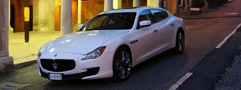 Обои автомобили Maserati Quattroporte Diesel - 2014 - Car wallpapers