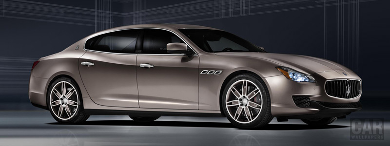 Обои автомобили Maserati Quattroporte Ermenegildo Zegna - 2014 - Car wallpapers