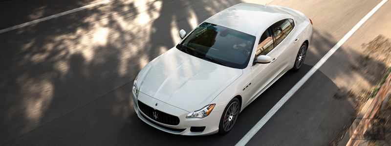 Обои автомобили Maserati Quattroporte GTS - 2015 - Car wallpapers