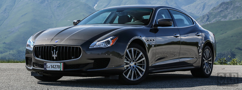Обои автомобили Maserati Quattroporte S Q4 - 2015 - Car wallpapers