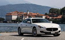 Обои автомобили Maserati Quattroporte S - 2015