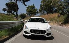 Обои автомобили Maserati Quattroporte GTS GranSport - 2016