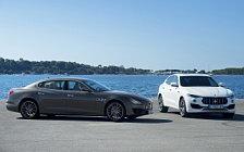 Обои автомобили Maserati Quattroporte Diesel GranSport - 2017