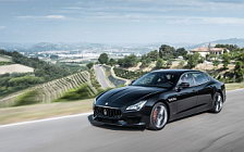 Обои автомобили Maserati Quattroporte GTS GranSport - 2017