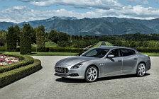 Обои автомобили Maserati Quattroporte S Q4 GranLusso - 2017