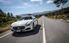 Обои автомобили Maserati Quattroporte Diesel GranLusso - 2018