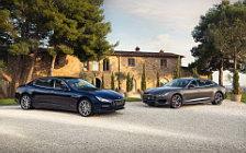 Обои автомобили Maserati Quattroporte GranLusso & GranSport - 2018