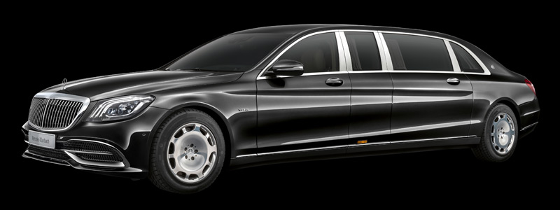 Обои автомобили Mercedes-Maybach S 650 Pullman - 2018 - Car wallpapers