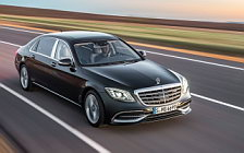 Обои автомобили Mercedes-Maybach S 650 - 2017