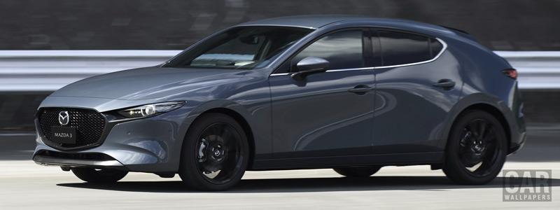 Обои автомобили Mazda 3 Hatchback US-spec - 2019 - Car wallpapers
