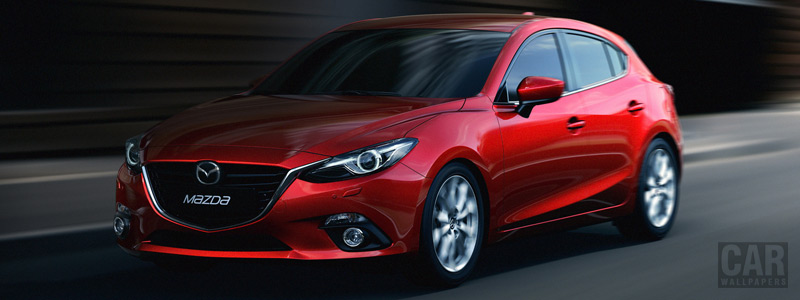 Обои автомобили Mazda 3 Hatchback - 2013 - Car wallpapers