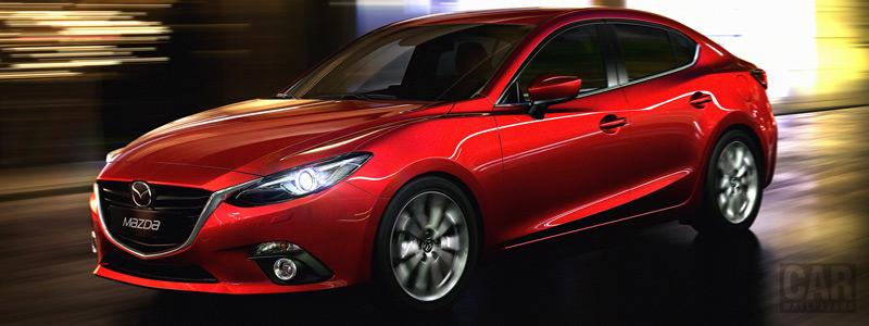 Обои автомобили Mazda 3 Sedan - 2013 - Car wallpapers