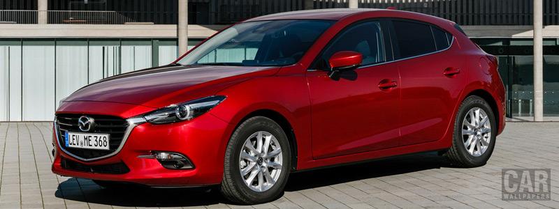 Обои автомобили Mazda 3 Hatchback - 2016 - Car wallpapers