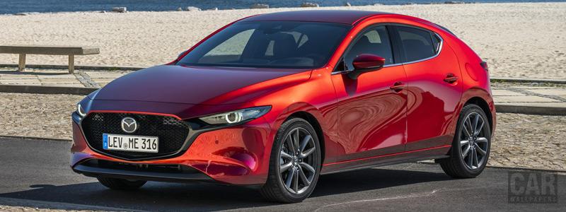 Обои автомобили Mazda 3 Hatchback (Soul Red Crystal) - 2019 - Car wallpapers