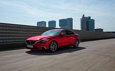 Обои автомобили Mazda 6 Sedan - 2017