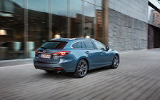 Обои автомобили Mazda 6 Wagon - 2017