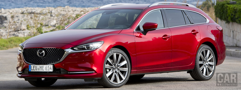 Обои автомобили Mazda 6 Wagon - 2018 - Car wallpapers