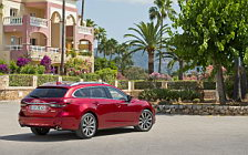 Обои автомобили Mazda 6 Wagon - 2018
