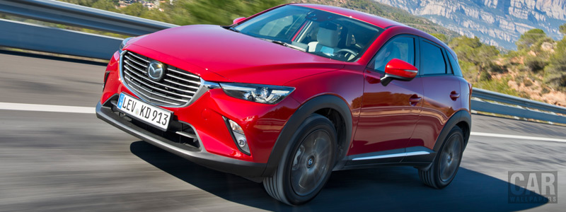 Обои автомобили Mazda CX-3 AWD - 2015 - Car wallpapers